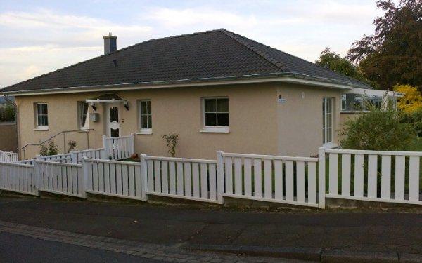 Außenputz Einfamilienhaus